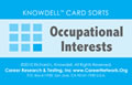 picture of knowdell interests card - backside