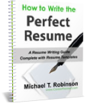 Resume Templates and How To Write The Perfect Resume - eBook Cover Photo